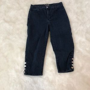 Not Your Daughters Jeans Womens Capri Jeans